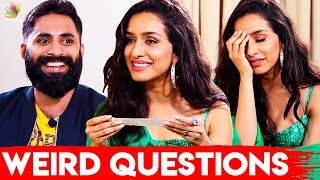 Worst Alcoholic Experience : Shraddha Kapoor Interview I Prabhas, Saaho Movie Tamil