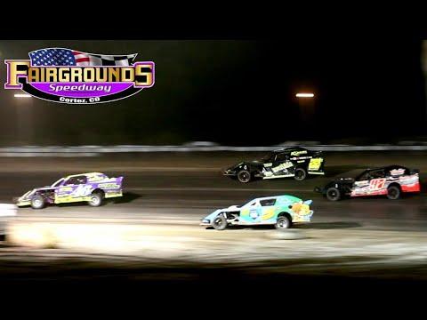 Fairgrounds Speedway IMCA Northern SportMod Main Event 8/14/21 - dirt track racing video image