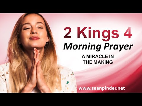 A MIRACLE in the MAKING - Morning Prayer