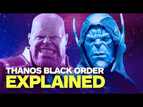 Thanos' Black Order Explained - Who Are the Avengers: Infinity War Villains? - UCKy1dAqELo0zrOtPkf0eTMw