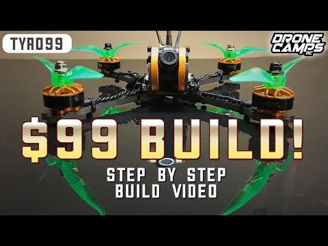 Eachine TYRO99 - PRO RACE DRONE for $99 - FULL BUILD VIDEO - UCwojJxGQ0SNeVV09mKlnonA