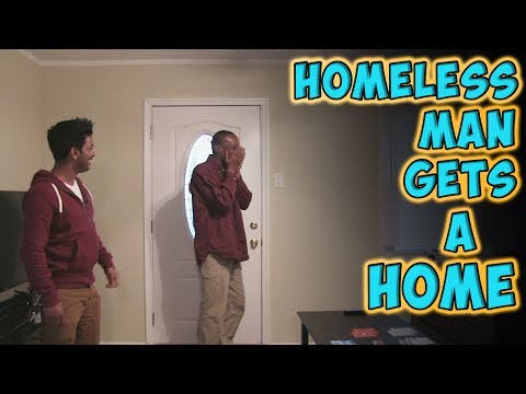 Homeless Man Gets A Home - UCCsj3Uk-cuVQejdoX-Pc_Lg