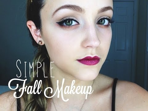 Get Ready With Me! VERY Simple With a Pop Of Fall - UC8v4vz_n2rys6Yxpj8LuOBA