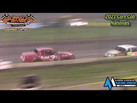 Buffalo River Speedway IMCA Hobby Stock A-Main (2021 Corn Cob Nationals) (9/12/21) - dirt track racing video image