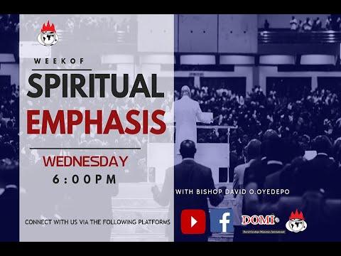 DOMI STREAM:DAY 1  WEEK OF SPIRITUAL EMPHASIS   APRIL  1, 2020