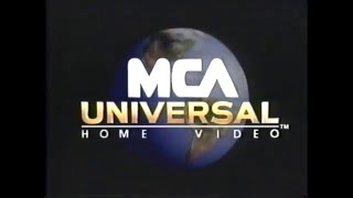 Mca Universal Home Video 1996 Company Logo Vhs Capture Youloop