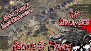 Never Touch A Mans Kübelwagen! Battle Of France; Sudden Strike 4