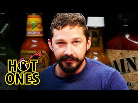 Shia LaBeouf Sheds a Tear While Eating Spicy Wings | Hot Ones - UCPD_bxCRGpmmeQcbe2kpPaA