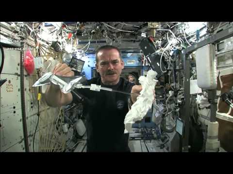 Wet Washcloth In Space - What Happens When You Wring It? | Video - UCVTomc35agH1SM6kCKzwW_g