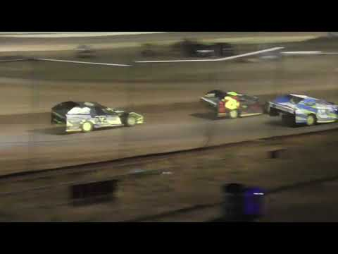 Cottage Grove Speedway Modified Main Event July 16th, 2021 - dirt track racing video image