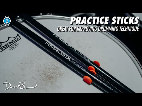 Check out these cool practice sticks! // Review of the Hingestix