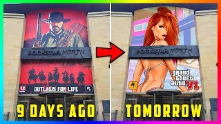 Rockstar Games Are Making A Very Mysterious Change To Their Main Office Headquarters! (GTA 6 Rumors)