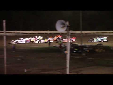 Hummingbird Speedway (8-14-21): Swanson Heavy Truck Repair Semi Late Model Feature - dirt track racing video image