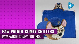 PAW Patrol Comfy Critters Stuffed Animal Blanket - Choose Your Character