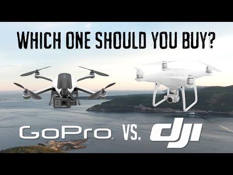 GoPro Karma vs. DJI Phantom - Which One Should You Buy? - UC5T_OBAMivEsAkLqlRpemSA