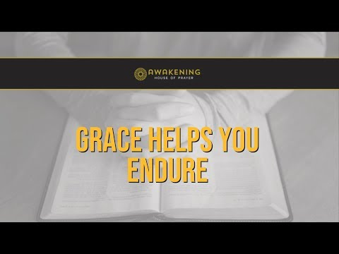 Grace Doesn't Always Stop the Spiritual Warfare, But Grace Helps You Endure
