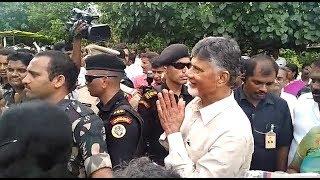 Chandrababu Naidu Ex CM Visits Flood Affected Areas in Vijayawada,vizagvision...