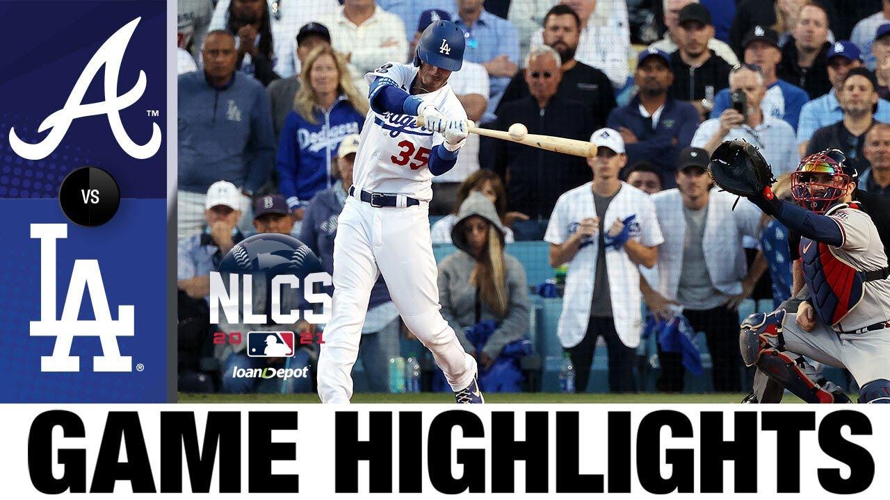 Braves vs. Dodgers NLCS Game 3 Highlights (10/19/21)   MLB Highlights