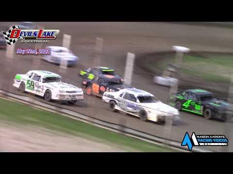 Devils Lake Speedway WISSOTA Street Stock A-Main (5/22/21) - dirt track racing video image