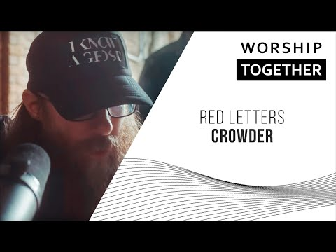 Red Letters // Crowder // New Song Cafe
