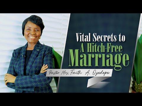 Vital Secrets to A Hitch-free Marriage