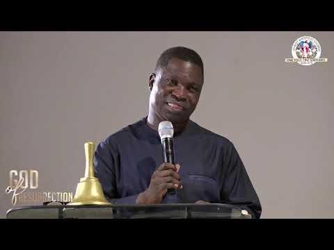 Prophet/Evang. Hezekiah Oladeji speaking on THE BENEFIT OF JESUS CHRIST RESURRECTION IN OUR LIFE .
