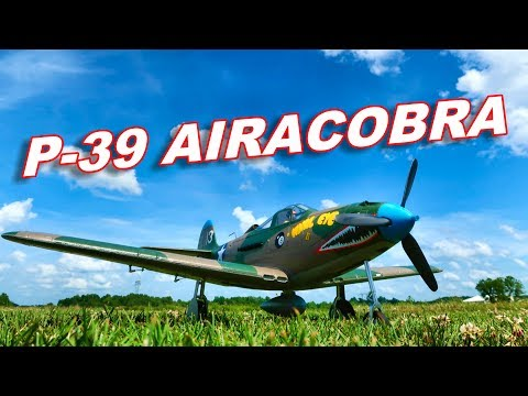 E-flite P-39 Airacobra 1.2m Plane - Your Next RC Warbird - TheRcSaylors - UCYWhRC3xtD_acDIZdr53huA