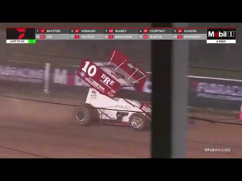 """Highlights: ASCoC """"Lou Blaney Memorial"""" @ Sharon Speedway 7.10.2021 - dirt track racing video image"""