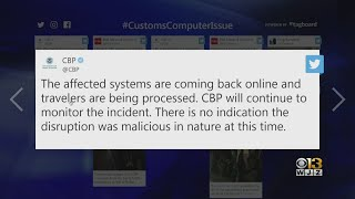 Customs Systems Causing Airport Delays Back Online
