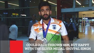 Could Have Thrown 88m, But Happy With The Silver Medal- Shivpal Singh