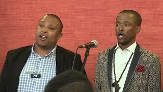 """Cape Town Opera Chorus Performs """"Nella Fantasia"""""""