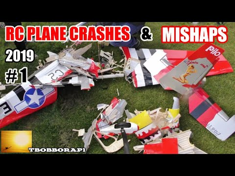 RC PLANE CRASHES & MISHAPS COMPILATION # 1 - TBOBBORAP1 - 2019 - UCMQ5IpqQ9PoRKKJI2HkUxEw