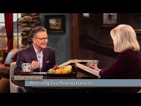 Receiving Overflowing Harvests