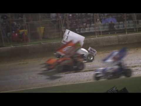 Dominic Scelzi 1-22-17 The Classic Night 3 Premier Speedway Main Event - dirt track racing video image