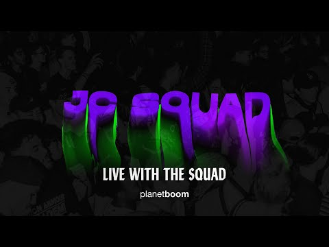 JC Squad (Live with the Squad)  planetboom Official Live Album