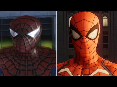 Spider-Man's New York (2004 vs. 2018) - UCKy1dAqELo0zrOtPkf0eTMw