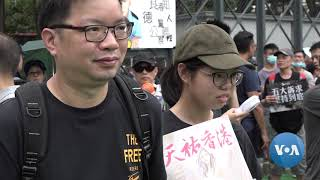 Hong Kong Protests Enter 11th Week With Large but Peaceful Rally