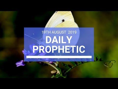 Daily prophetic 19 August 2019  Word 2