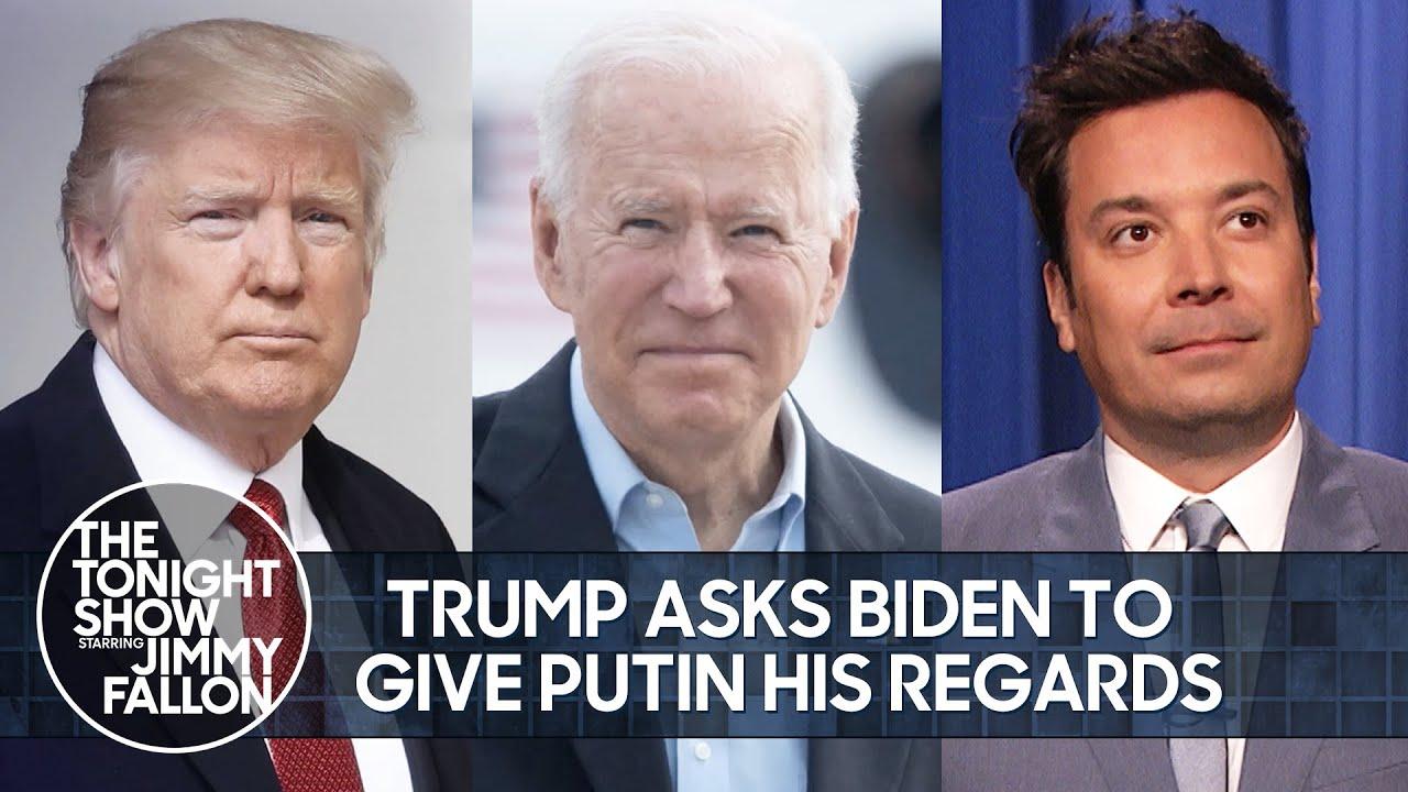 Trump Asks Biden to Give Putin His Regards, Kardashians Series Finale | The Tonight Show