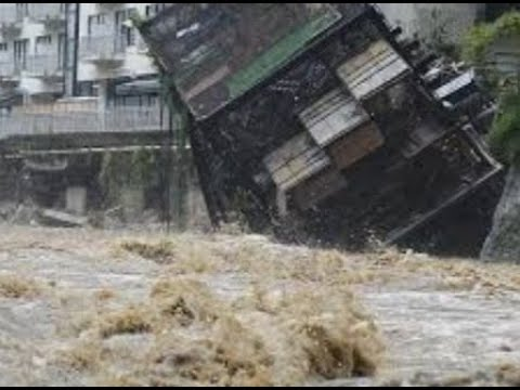 Breaking Massive Flooding Japan 15 Dead 200,000 Evacuated