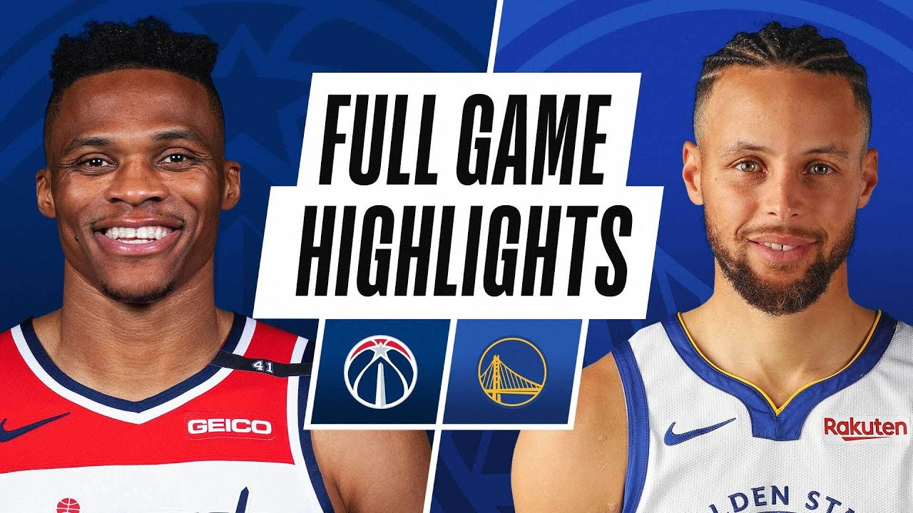 WIZARDS at WARRIORS | FULL GAME HIGHLIGHTS | April 9, 2021