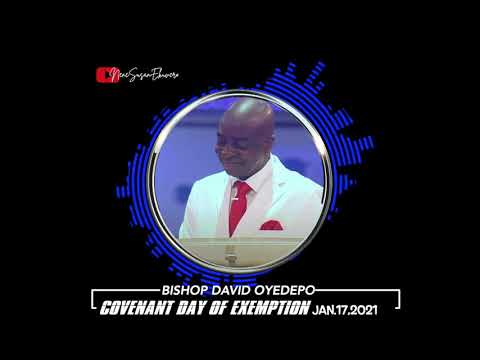 Bishop Oyedepo  Cov. Day of Exemption 01.17.2021