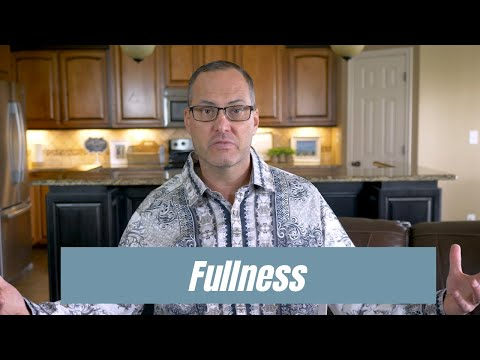 How to Operate in Fullness - Teaching from Joe Joe Dawson