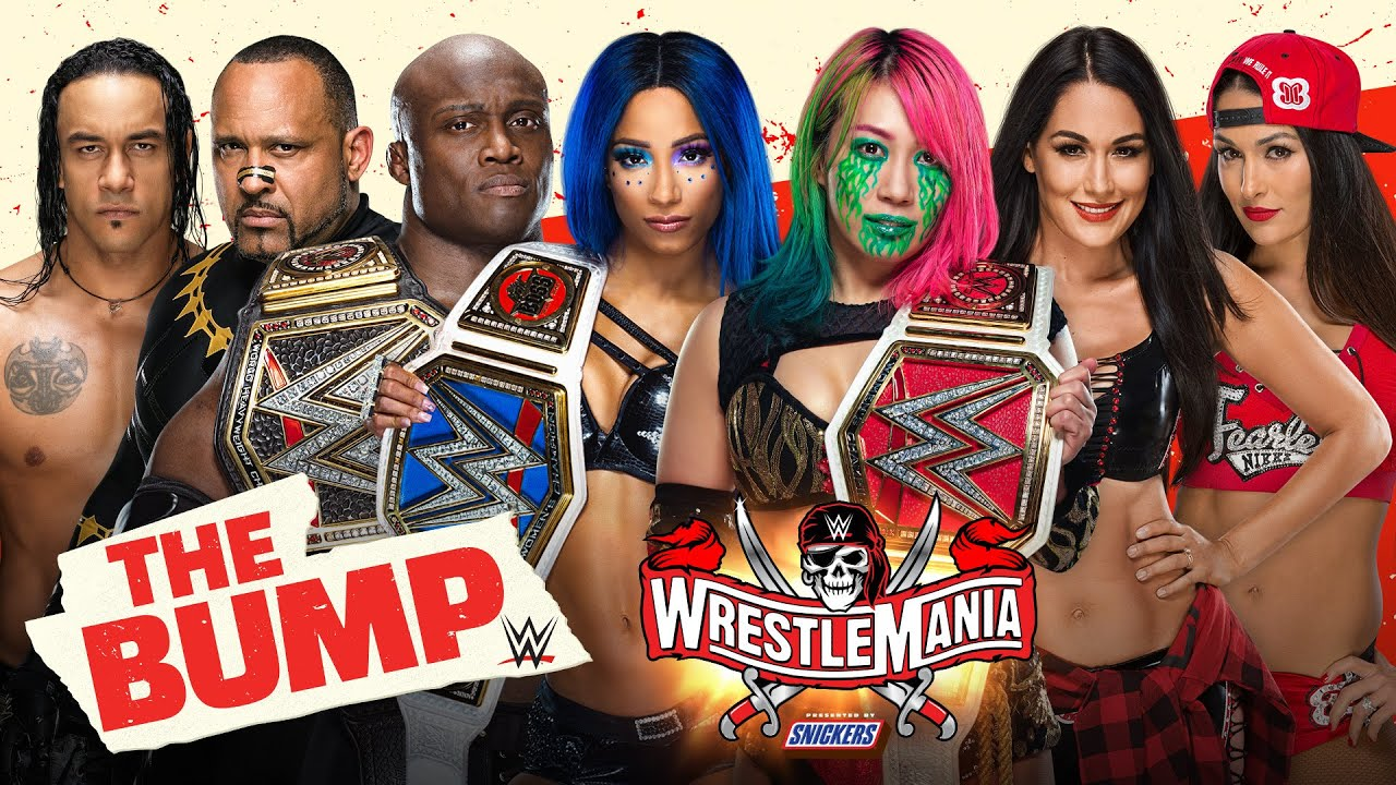 WrestleMania Night 1 preview special: WWE's The Bump, April 10, 2021