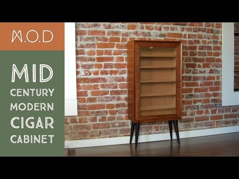 Building a Cigar cabinet - Mid Century Modern - DIY - UC9s3yVKqqgVlvfnS94wcjKQ
