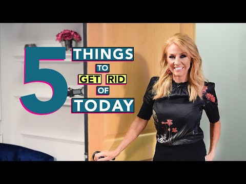 5 Things to Get Rid of Today if You Want to Live Your Dreams...