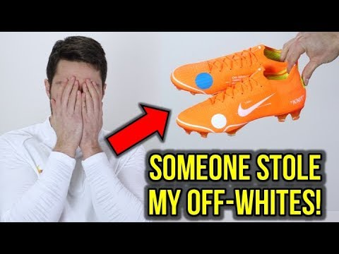 SOMEONE STOLE MY OFF-WHITE NIKE MERCURIAL VAPOR 12 ELITES! - UCUU3lMXc6iDrQw4eZen8COQ
