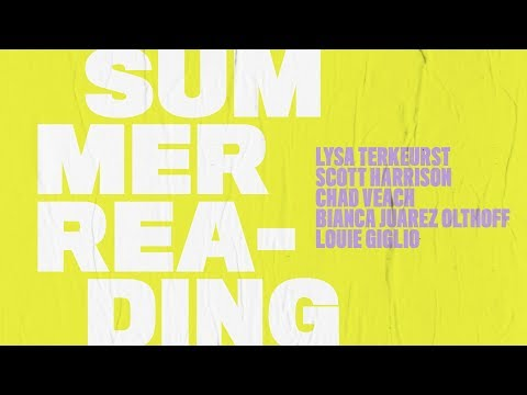 The Summer Reading series comes to a close this week with Pastor Louie Giglio! Don't miss it
