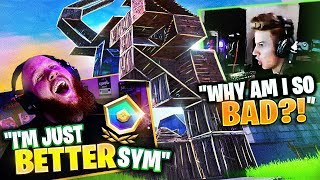 Carrying this BOT through ARENA!! FT. SYMFUHNY & CHAP
