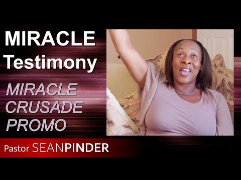 MARGARET'S MIRACLE TESTIMONY: RIGHT SHOULDER INJURY HEALED AND MIRACLE CRUSADE PROMO